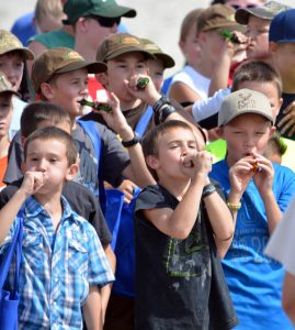 Kids can practise their duck calling at the Sept. 10 event.